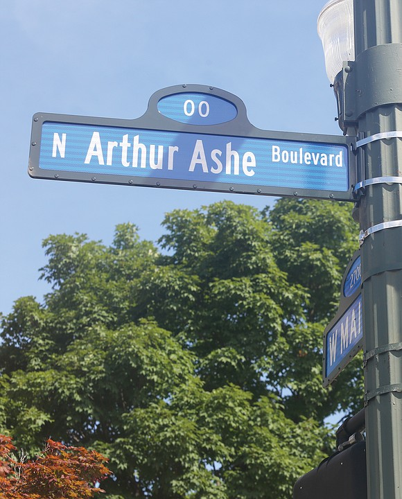 Re 'A true champion': Thousands celebrate dedication of Arthur Ashe Boulevard, Free Press June 27-29 edition: His name is Arthur ...
