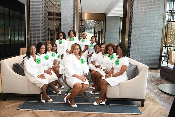 Alpha Kappa Alpha Sorority, Incorporated® made history today when it chartered its seventh four letter graduate chapter, Alpha Alpha Kappa ...