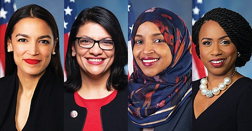 House Democrats introduced a resolution Monday condemning the president for the racist comments directed at four newly elected U.S. Representatives ...