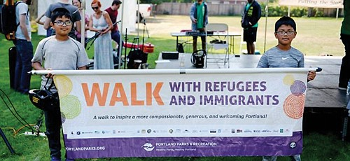 You can show support for Portlanders from around the globe when Portland Parks & Recreation holds its third annual Walk ...