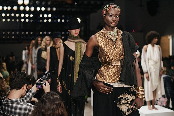 For this season's Fashion for Peace designs, all eyes are on India and New York.
