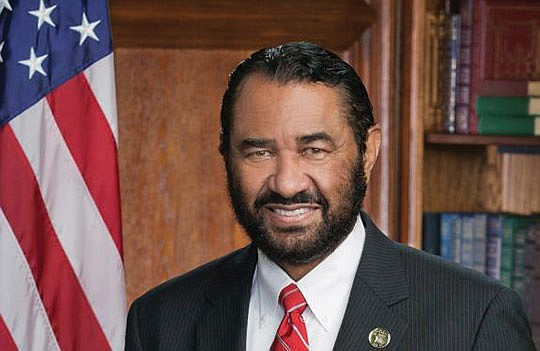 Rep. All Green (Democrat – Texas) introduced articles of impeachment against President Donald Trump...