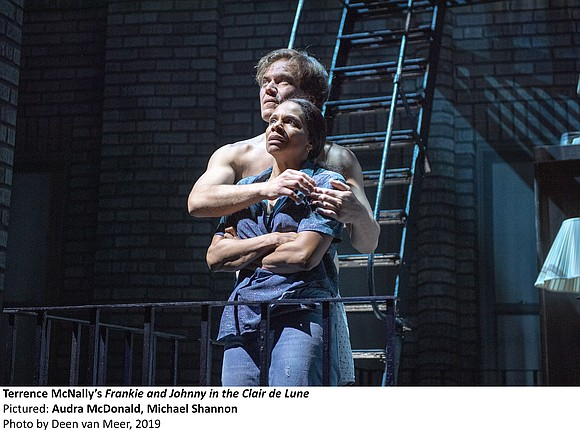 It is not often that a Broadway play starts off with two actors, the only cast members, having sex on ...
