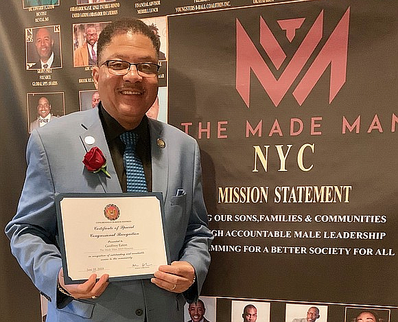 Geoffrey Eaton, TouroCOM Harlem's new director of community affairs and diversity and co-chair of the TouroCOM Harlem Community Advisory Board, ...