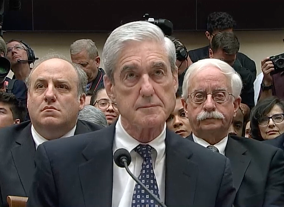 Former Special Counsel Robert Mueller testifies before the House Judiciary & Intelligence Committees on the Russia investigation and the published ...