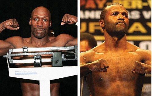"At 42 and 45 respectfully, Steve ""2 Pound"" Forbes and DeMarcus ""Chop Chop"" Corley will climb into the ring after ..."