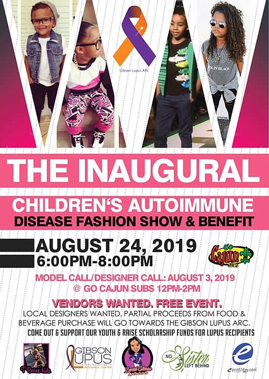 Houston's ARC Village, The Gibson Lupus Resource Center is hosting their 1st Annual Children's Autoimmune Disease and Awareness Fashion Show ...
