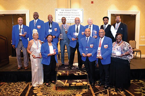 The Virginia Interscholastic Association held its fourth annual Hall of Fame induction ceremony June 28 in Charlottesville.