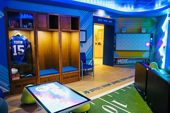 The Tim Tebow Foundation is honored to announce the grand opening of the newest Timmy's Playroom at AdventHealth Daytona Beach!