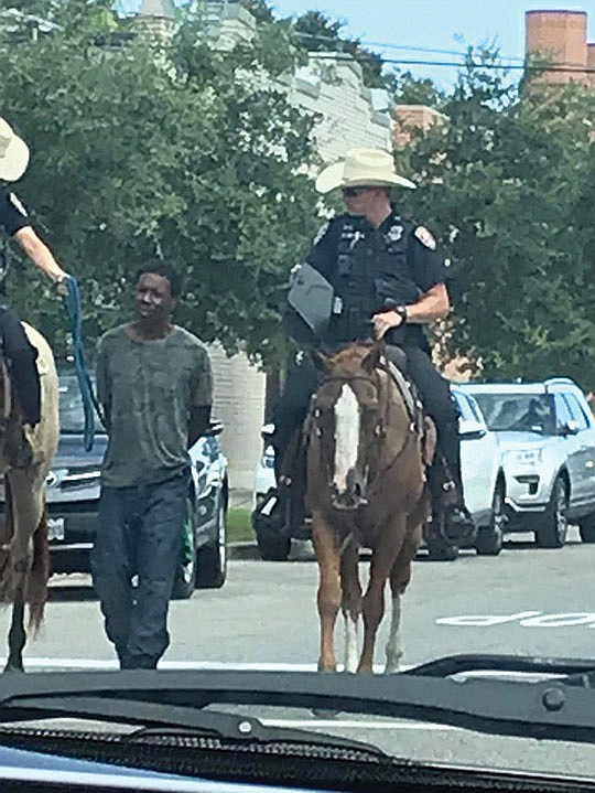 Can Texas get any more racist? The police chief of Galveston, Texas, apologized on Monday night after a..