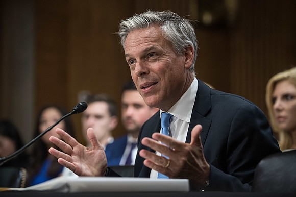 US Ambassador to Russia Jon Huntsman has submitted his resignation letter to President Donald Trump and plans to move back ...