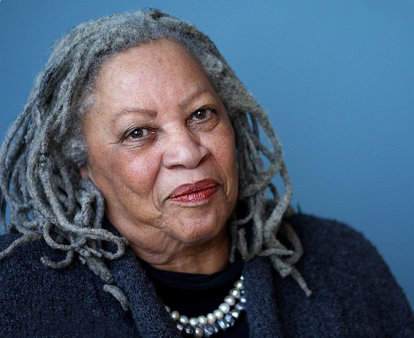 "Toni Morrison, author of seminal works of literature on the black experience such as ""Beloved,"" ""Song of Solomon"" and ""Sula"" ..."
