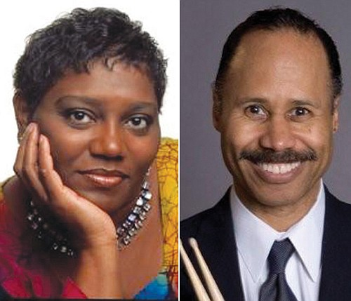 Marilyn Keller and Ron Steen are two of the musicians to perform at Sunday's 'Summer in the City' neighborhood party at Augustana Lutheran Church.