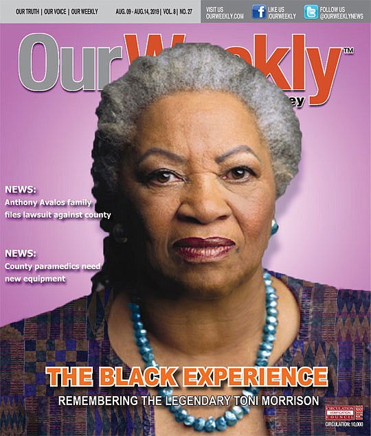 """There's a picture of Toni Morrison in the American Heritage dictionary: """"Amer. writer. 1993 Nobel"""" is all the old, small, ..."""