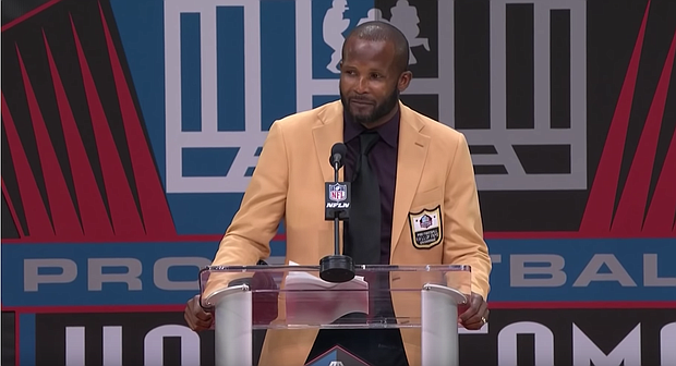 Champ Bailey delivered a powerful speech at his Hall of Fame induction ceremony Saturday