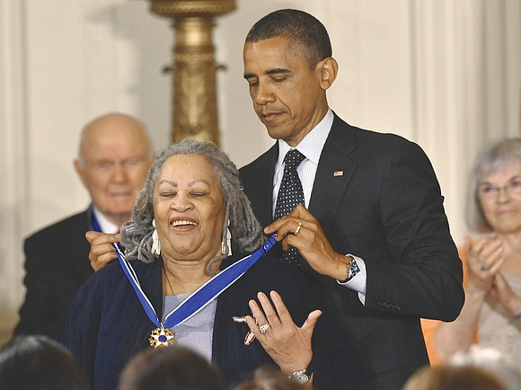 "Nobel laureate Toni Morrison, a pioneer and reigning giant of modern literature whose imaginative power in ""Beloved,"" ""Song of Solomon"" ..."