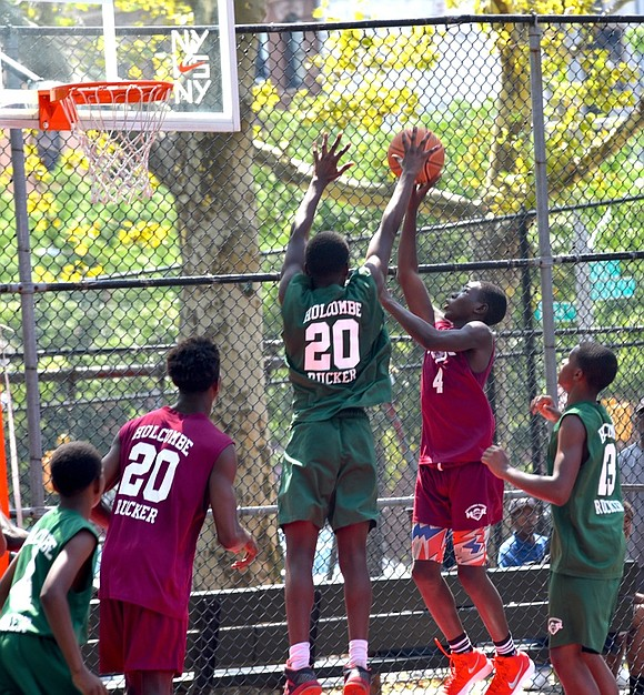 The Rucker championships were held on Sunday, morning through the afternoon, concluding their 10 week summer league basketball program.