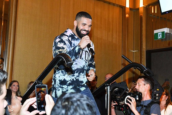 """Drake got a special delivery with his new album, """"Care Package."""" The rapper has extended his own record on the ..."""