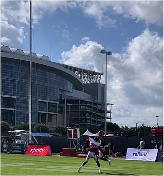 The Houston Texans were back on the practice field as they prepare for their second preseason game against the Detroit ...
