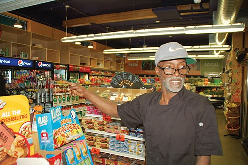 Village Gardens Prepared Foods Manager Charles Robertson was integral to the non-profit's establishment of a food market back in 2008 with his grant writing and organizing, and has been involved with the Janus Youth program in north Portland ever since.