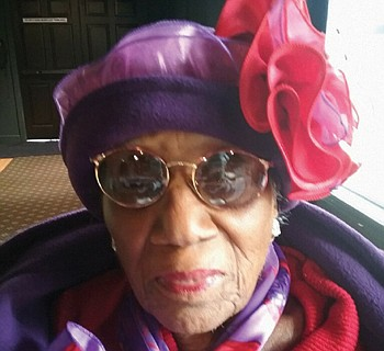 Mrs. Johnnie Maxey will celebrate her 100th birthday on Saturday, Aug. 24 with a family picnic at Dawson Park.