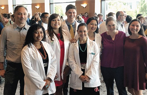 Oregon Health and Sciences University is celebrating an incoming class of future medical doctors that is the most racially diverse ...