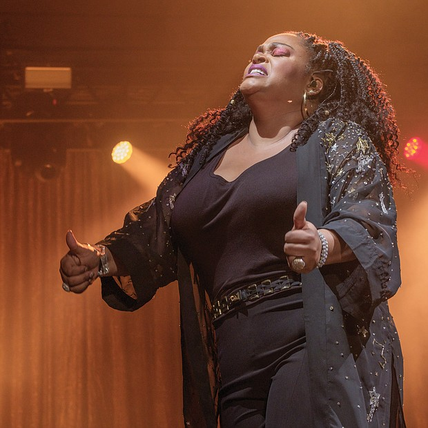 Jill Scott wowed an appreciative crowd Saturday night with her vocals at the 10th Annual Richmond Jazz and Music Festival.