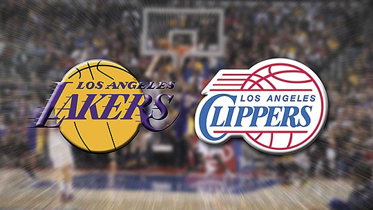 The Los Angeles Lakers will face the Los Angeles Clippers on the opening..
