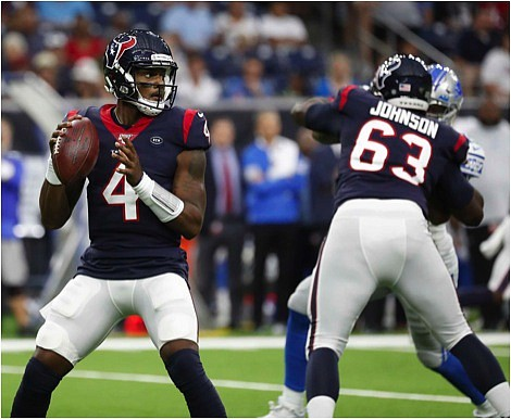 The Houston Texans look to rebound after such a heartbreaking loss to the New Orleans Saints on Monday night (30 ...