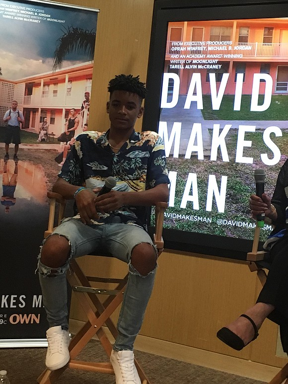"""Oscar winner and Tony nominee Tarell Alvin McCraney's first television project """"David Makes Man,"""" which premiered Aug. 14 on the ..."""
