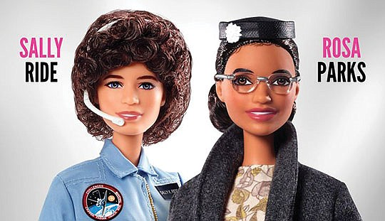 Children all over the world can now play with the newest Barbie dolls..