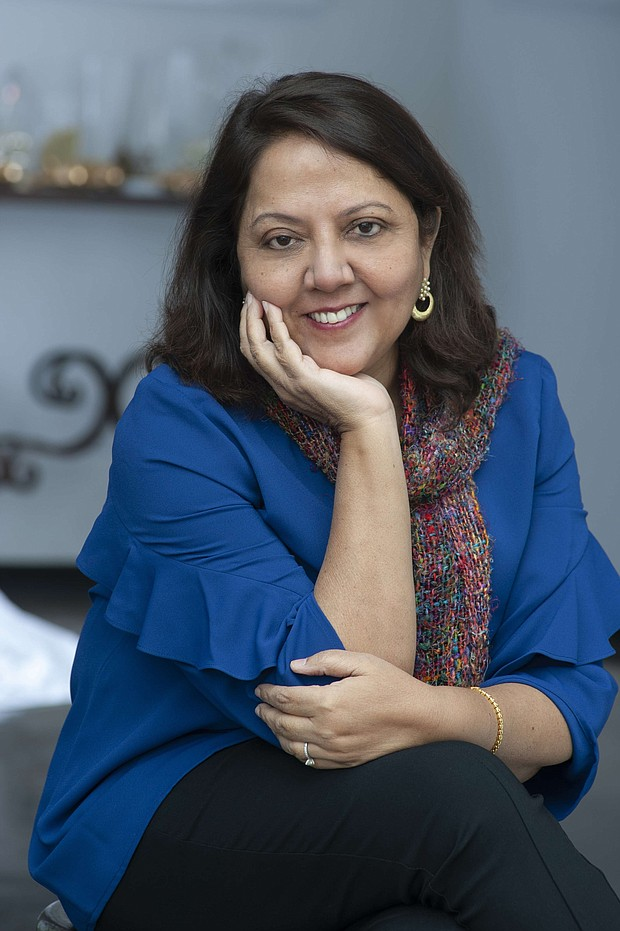 Varsha Bajaji/Count Me In author CREDIT Debbie   Porter Photography
