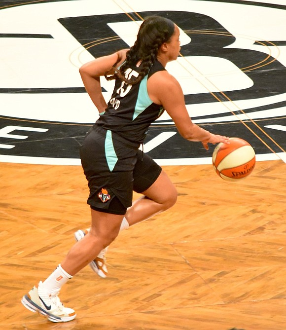 Tuesday night's 95–82 loss to the Phoenix Mercury put an end to the New York Liberty's hopes of making a ...