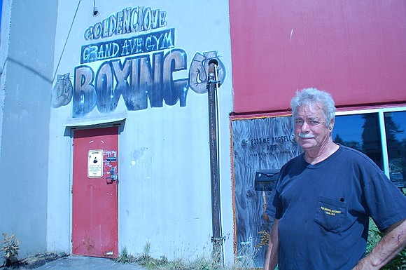 Fred Ryan feared the worst when a fire caused damage to his historic Grand Avenue Boxing Club at 8333 N.E. ...