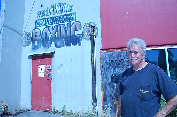Fred Ryan feared the worst when a fire caused damage to his historic Grand Avenue Boxing Club at 8333 N.E. Russell St., but now must await a full inspection of the building before he knows if it's possible to move back in at some point. The club has been a community resource for generations.