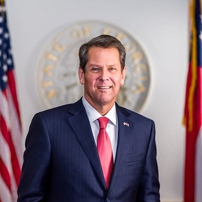 Georgia Governor Brian Kemp's election last year was...
