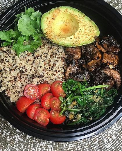 Healthy Quinoa Bowl.