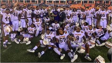 Prairie View A&M University Panther Football Team/Photos courtesy of Jamar Carrington