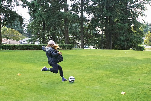 Glendoveer Golf Course will host a 'Kick for Komen' footgolf tournament this month as a fundraiser to support the breast cancer prevention and treatment options generated by the nonprofit Komen Oregon and Southwest Washington.