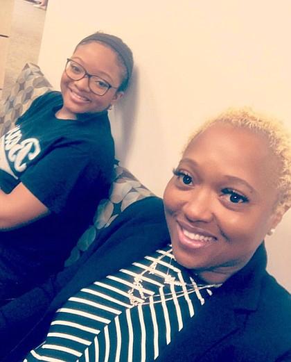 (Left to Right): DyAnna Denae Tucker & RoseMary Tucker