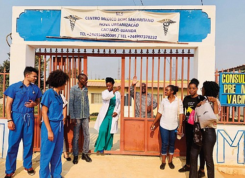 Portland doctor and her medical students join mission this summer to bring hope and medical care to a beloved Angola ...