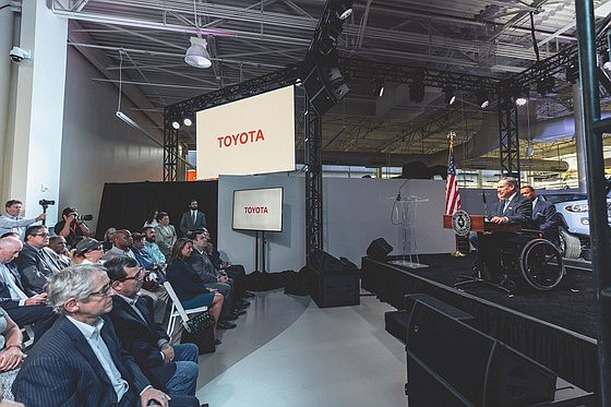 Governor Greg Abbott today attended and delivered remarks at a Toyota economic development announcement in San Antonio. Toyota Motors and ...