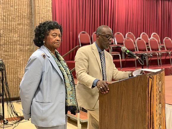 Councilman Daneek Miller hosted the event with Assemblywoman Vivian Cook. Senator Leroy Comrie and Councilman Donovan Richards were in attendance ...