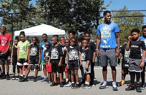 New York Knicks assistant coach Royal Ivey held his annual Skills Clinic this weekend for boys and girls ages 8 ...
