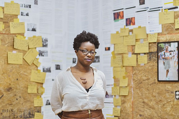 Filmmaker, Black feminist, author and organizer Nia Hampton is a young Black woman on the rise.
