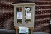 The WCHD Micro Pantry sits along the WCHD main building facing Neal Avenue.