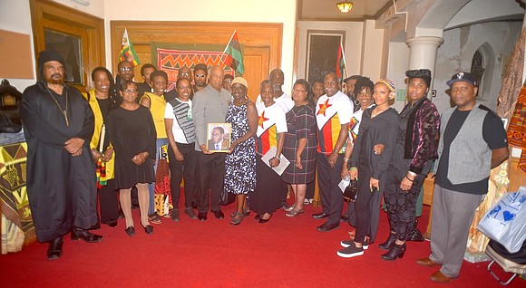 New Yorkers came out to commemorate the liberation struggle legacy of the former President of the Republic of Zimbabwe Robert ...