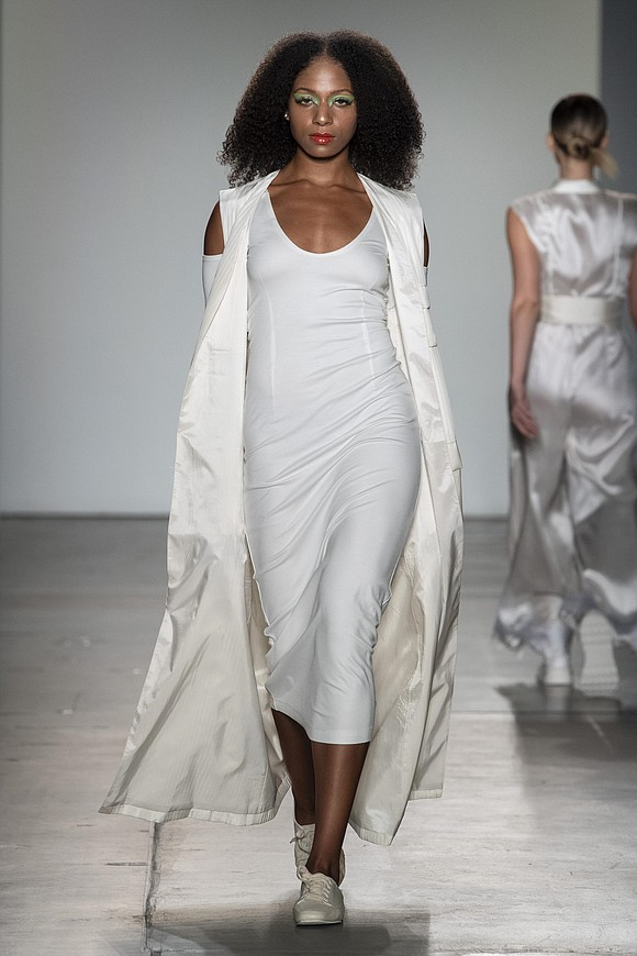 Bailuyu by Fu Wenjie's latest collection opened with a whispery white pristine gown that paved the way for a beautifully ...