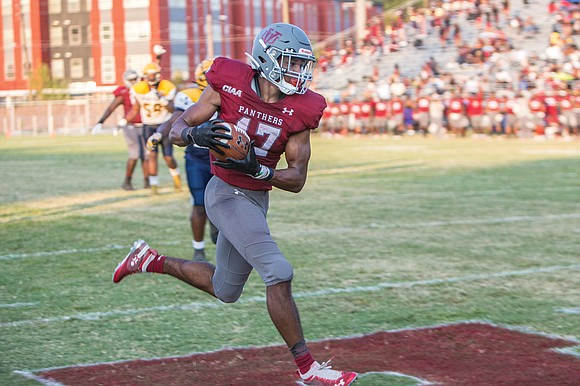 Charles Hall was merely a background figure — little more than an extra — last season for Virginia Union University ...
