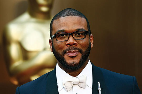 Tyler Perry received a star on the Hollywood..